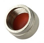 A-CAP-N-M- Knurled Metal Cap for N-type Connectors