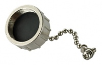 A-CAP-WPRJ45-MC - Metal Cap with Chain for RJ45