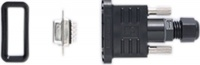 A-PLG-WPF9-IP6701 - Field-installation screw-in D-Sub 9-pin female connector, rated IP67