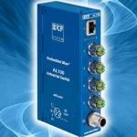 AL100 - Industrial scalable 5 to 15 Ports GbE Switch with M12-X Connectors