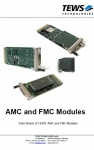 AMC and FMC Modules Catalog by TEWS