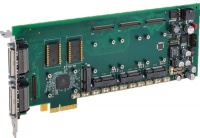 APCe7043E  - PCI Express Carrier Card for AcroPack® Modules with four AcroPack or mini-PCIe mezzanine module slots, 3/4-length PCIe x4 interface
