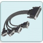 CBL-M37M9x4-30 - DB37(M) to 4 x DB9(M) Cable