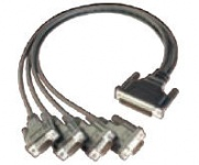CBL-M44M9x4-50 Split Cable