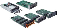 DA-720 Series Expansion Modules - Expansion modules with PRP/HSR ports, RS-232/422/485 serial ports, Giga LAN ports, and SATA kit