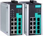 EDS-G512E Series - 12G-Port (with 8 PoE+ ports option) full Gigabit managed Ethernet Switches with 4 SFP Slots
