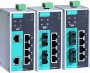 EDS-P206A-4PoE - 6-port unmanaged Ethernet switches with 4 IEEE 802.3af/at PoE+ ports