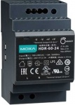HDR-60-24 - 60 W small form factor power supply for DIN-rail mounted products