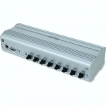 HUB-5595  - 2Gb/s Reflective Memory Hub with DIN-Rail Mount Enclosure