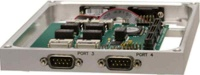 IDAN-LAN35255  Five-Port GigE Switches in PCIe/104 in a stackable, rugged IDAN enclosure