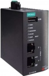 IEC-G102-BP Series - 2-port Gigabit Industrial Intrusion Prevention System (IPS) device with Hardware Bypass