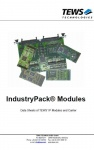 IndustryPack Modules and Carriers Catalog by TEWS
