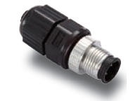 M12D-4P-IP68 Connector
