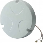 MAT-WDB-CA-RM-2-0205 - MIMO 2x2, 2.4/5 GHz, dual-band ceiling antenna, 2/5 dBi, RP-SMA-type (male)