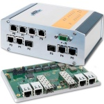 Universal & rugged 10-port managed Switch mit 2 SFP+ 10Gbit ports