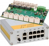 µMAGBES - Ultra compact rugged managed 1Gbit Switch with 10, 19 or 28 Ports