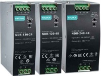 NDR Power Supply Series - 120/240 W small form factor power supply for DIN-rail mounted products