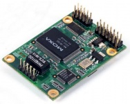 NE-4120A - Device server module for RS-422/485 devices, supports 10/100BaseT(x) with 5-pin Ethernet pin header