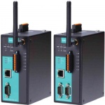 NPort IAW5000A-6I/O Series - 1 oder 2-port RS-232/422/485 IEEE 802.11a/b/g/n wireless device server with 4 DIs and 2 DOs