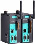 NPort IAW5000A-I/O Series - 1/2-port RS-232/422/485 IEEE 802.11a/b/g/n wireless device server with 6 or 12 digital IOs