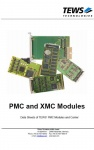PMC and XMC Modules and Carriers Catalog by TEWS