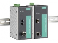 PTC-101 Series - IEC 61850-3 and EN50155 Ethernet-to-Fiber Media Converters