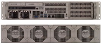 RES-XR5-2U-17Z-FIO  - 2HE Rugged Front-I/O Server with single/dual Xeon E5-2600 V4, 17'' Depth