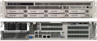 RES-XR5-2U-17Z  - 2HE Rugged Server with Intel Xeon E5-2600 V4 CPUs, 17 Inch Depth