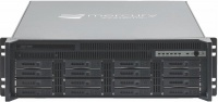 "RES-XR6-3U-17Z-16D -3HE 17"" Deep, 16 Drive, Rear I/O Rugged Rackmount Server"