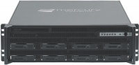 "RES-XR6-3U-17Z-8D -3HE 17"" Deep, 8 Drive, Rear I/O Rugged Rackmount Server"