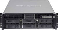 "RES AI-XR6-3U-8dr-24IN - 24"" deep, 8 drive, rear I/O rugged High Performance Computing (HPC) rack mountable server"