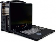 SRL-DX1 Rugged Laptop - Dual Xeon SC portable compact high-performance-Server