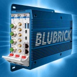 SRS-1201-BLUBRICK - Rugged Wall-Mount Box: System Platform for Railway, Automotive, Industrial Applications