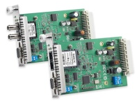 TCF-142-RM Series RS-232/422/485 to Fiber slide-in Modules for the NRack System