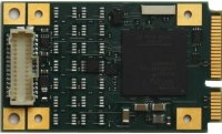 TMPE623 - Reconfigurable FPGA with Digital I/O PCIe Mini Card