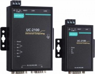 UC-2100 Series - Arm-based Palm-sized Wireless-enabled Industrial Computer with up to 2 serial ports, 2 LAN ports