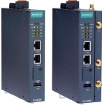 UC-8200 Series - Arm-based wireless-enabled DIN-rail high performance Industrial Computer with 2 serial Ports, 2 LAN Ports, and 1 CAN Port