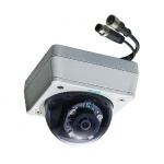 VPort P16-1MP-M12-IR  - EN 50155 compliant, HD Video Image, Day & Night Fixed-Dome IP-Camera