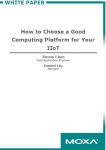 Whitepaper - How to Choose a Good Computing Platform for Your IIoT