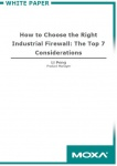 How to Choose the Right Industrial Firewall: The Top 7 Considerations